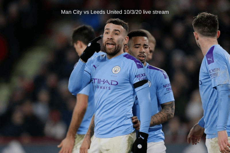 Man City vs Leeds United Saturday live stream